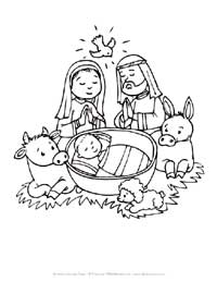 200x259 Christmas Coloring Pages