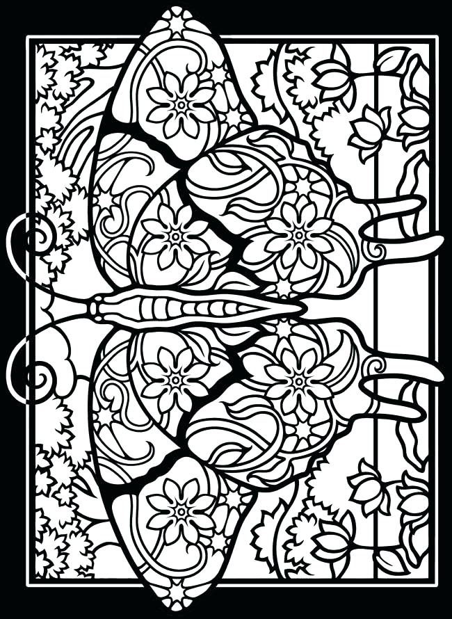 650x890 Stained Glass Coloring Art Coloring Pages Packed With Stained