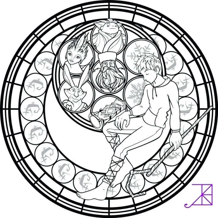 736x736 Stained Glass Coloring Pages Stain Glass Coloring Pages Stained