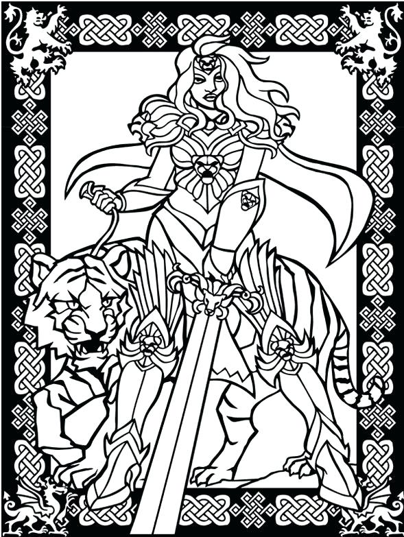 589x783 Stained Glass Coloring Pages Easter