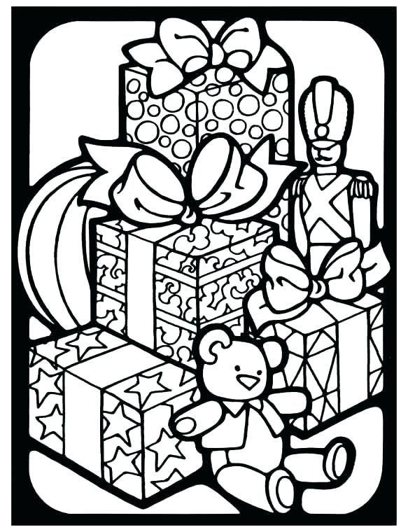 583x760 Stained Glass Coloring Pages