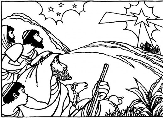 Christmas Story Coloring Pages At Getdrawings Com Free For
