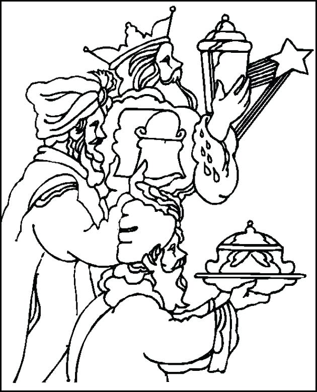 630x779 Christmas Story Coloring Pages Bible Story Christmas Story