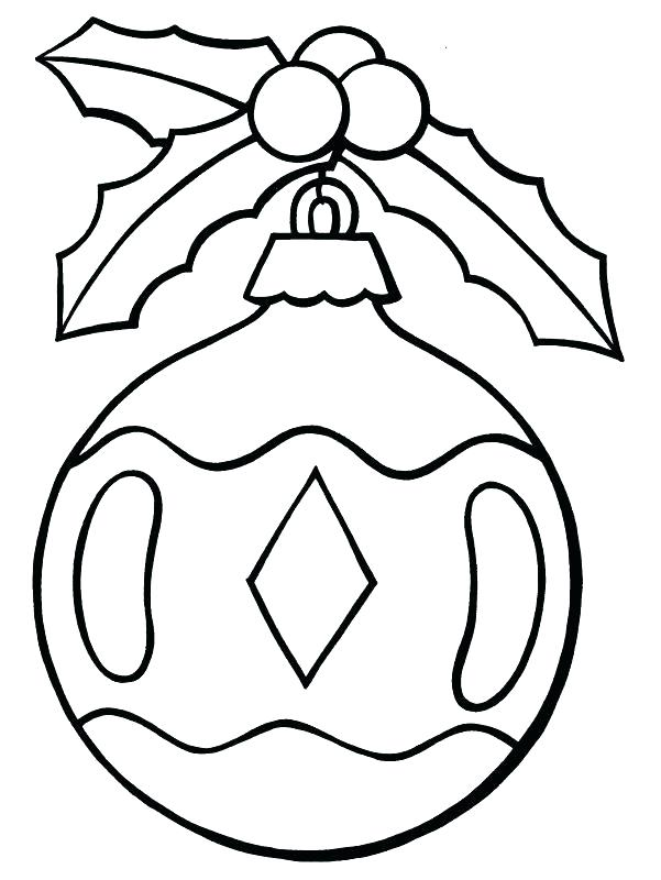 601x800 Christmas Ornament Coloring Pages Ornament Line Drawing Coloring