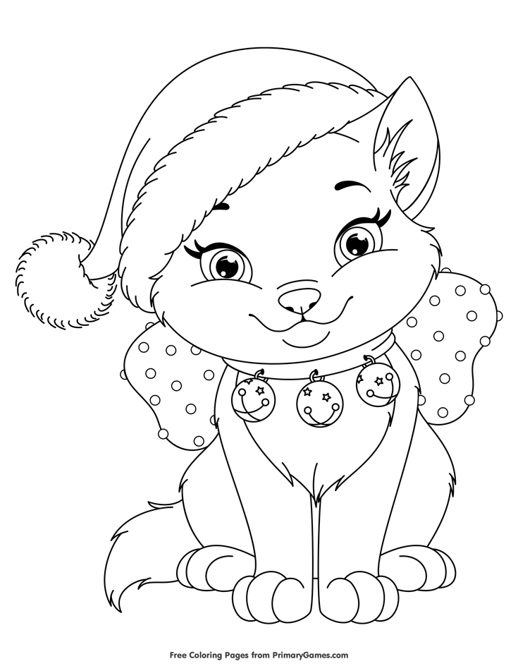 735x951 Christmas Coloring Pages Regi