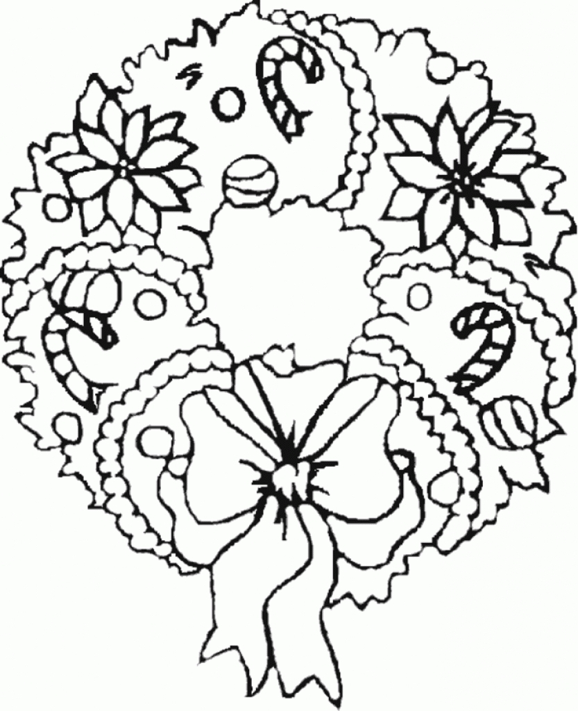 833x1024 Christmas Theme Coloring Pages