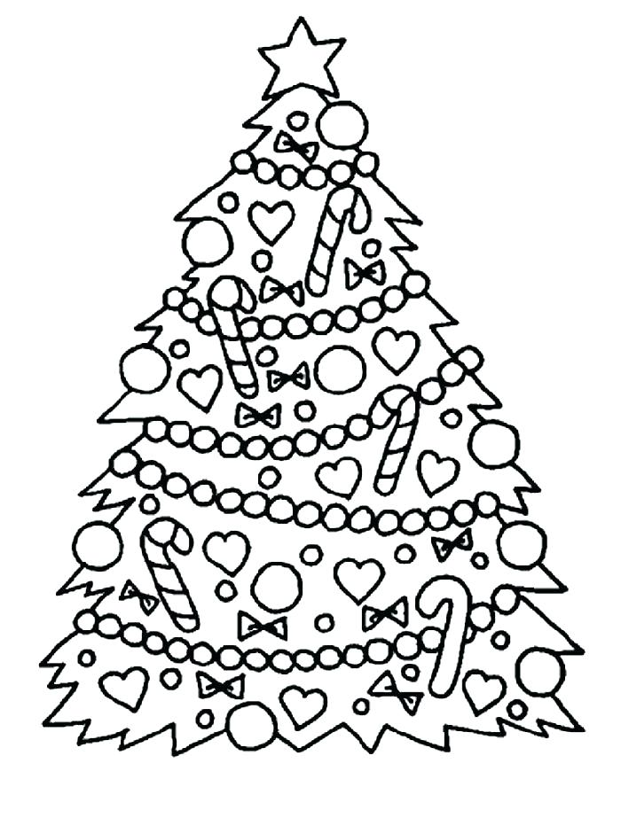 700x923 Christmas Themed Colouring Pages Image Of Printable Tree Coloring