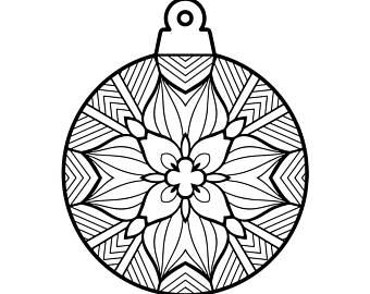 340x270 Coloring Letter L Download Adult Christmas Printable Coloring