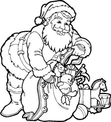 363x400 Fun Craft For Kids Printable Christmas Themed Coloring Pages For Kids