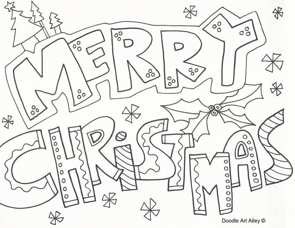1035x800 Merry Christmas Coloring Pages To Download And Print For Free