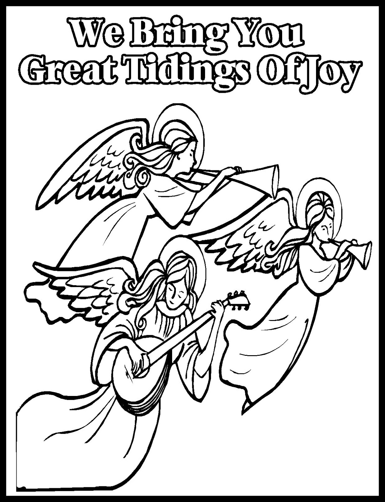 1228x1600 Children's Gems In My Treasure Box Christmas Coloring Sheets