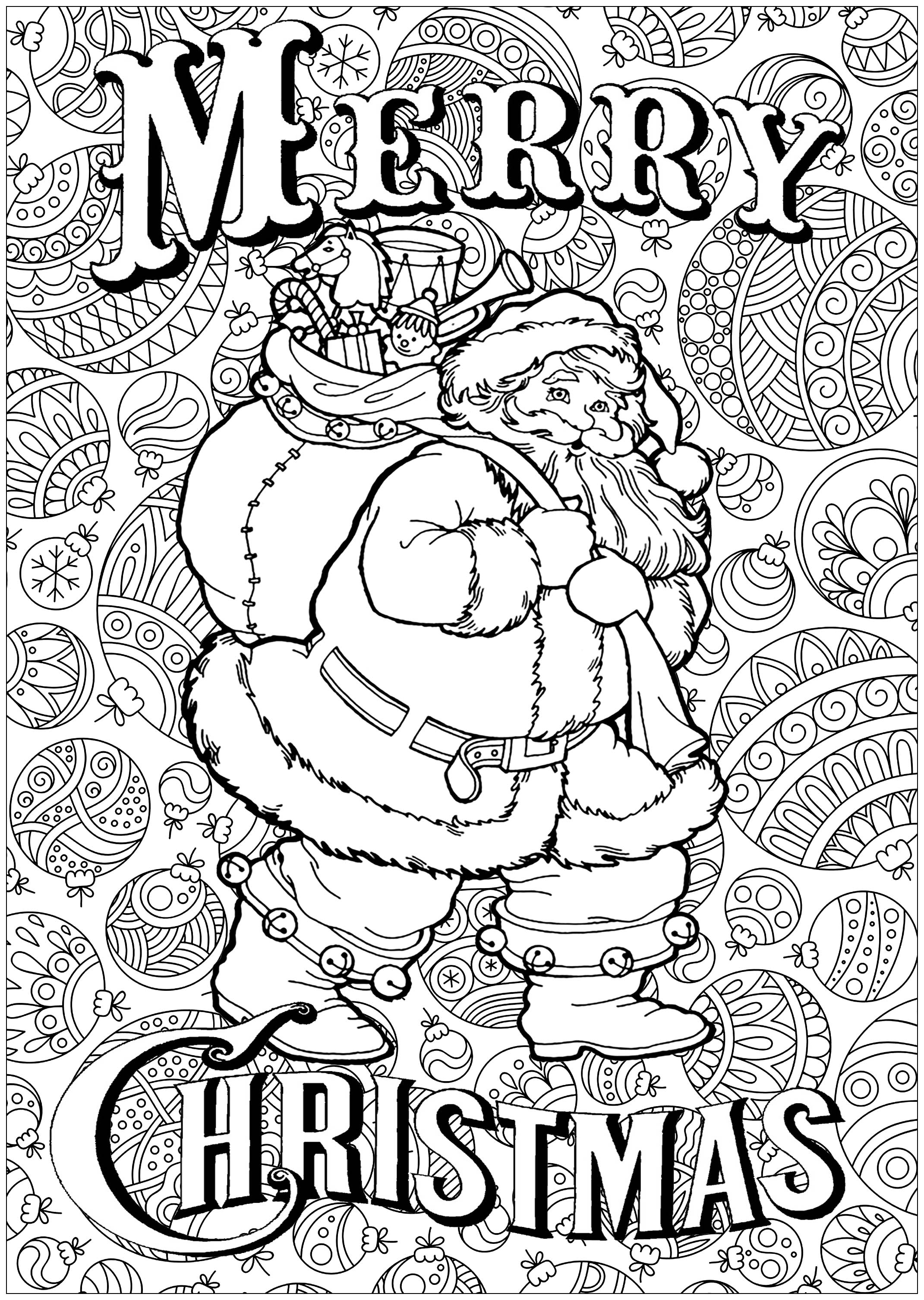 2141x3011 Christmas Coloring Pages All Information About Free Printable