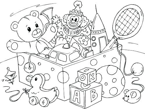 500x375 Toy Coloring Pages Misfit Toys Coloring Pages Toy Train Colouring