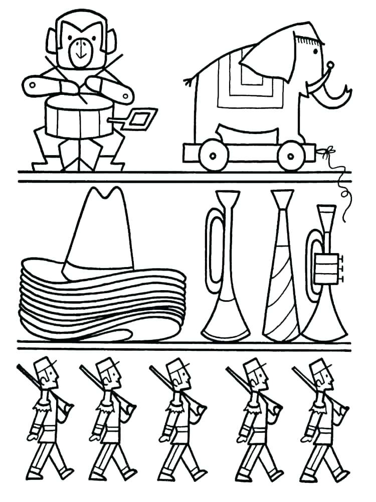 750x1000 Toys Coloring Christmas Toys Coloring Pages