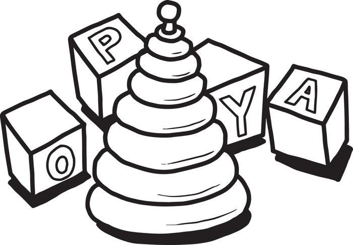 700x486 Toys Coloring Pages Preschool Collection