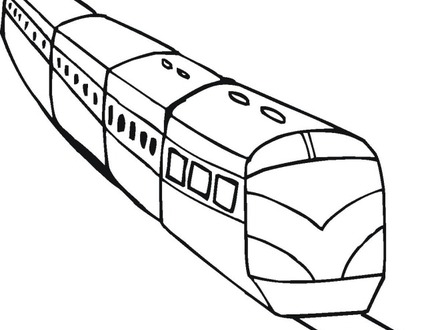 440x330 Free Train Coloring Pages, Coloring Pages Train Coloring Page
