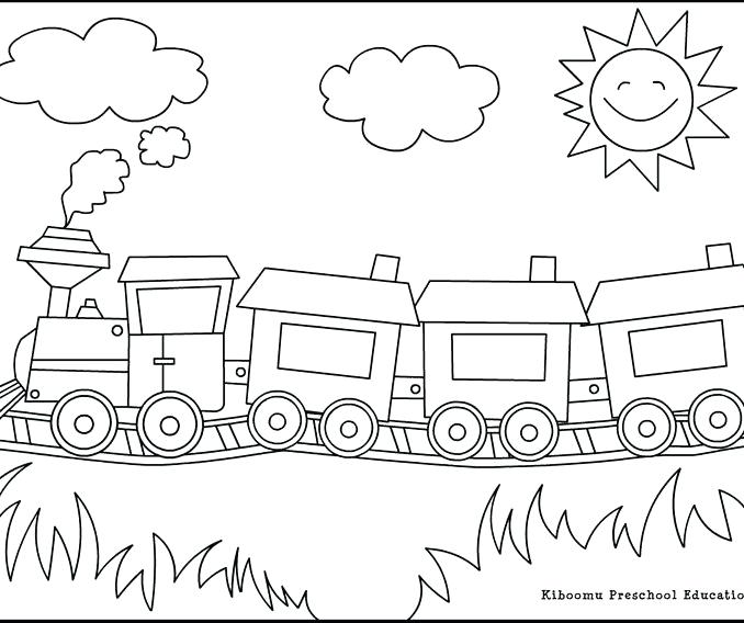 678x568 Coloring Train Pictures Inspirational Steam Engine Coloring Pages