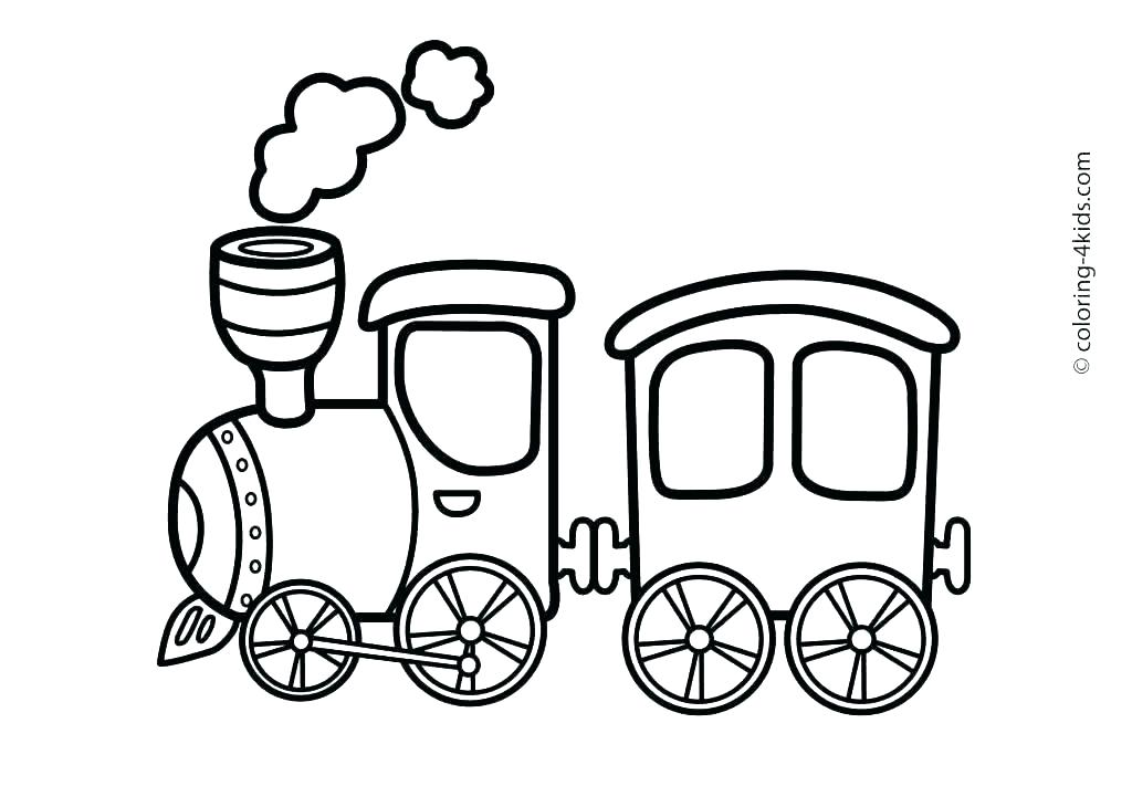 1024x730 Free Printable Christmas Train Coloring Pages The Pa