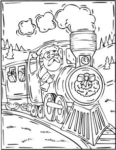 236x304 Giving Your Youngster Christmas Train Coloring Page Coloring Pages