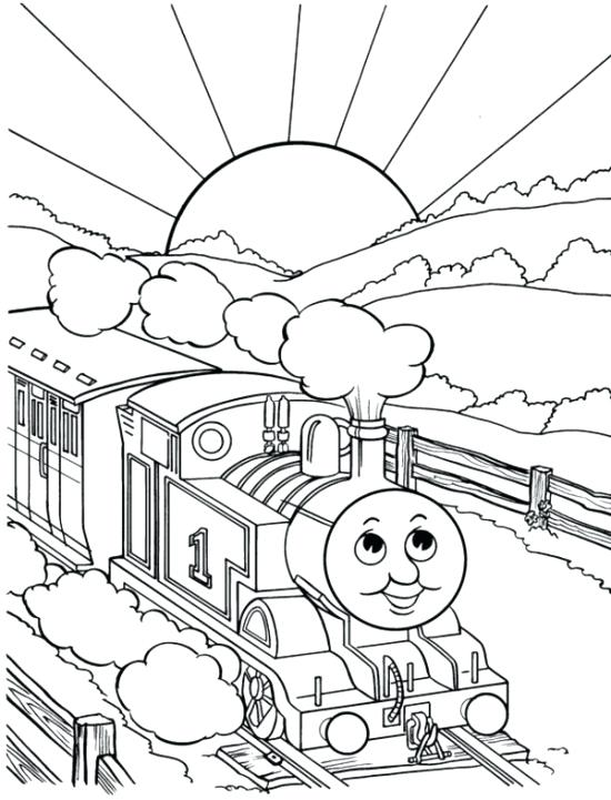550x721 Train Coloring Pages Printable Best Pictures Of Trains To Print
