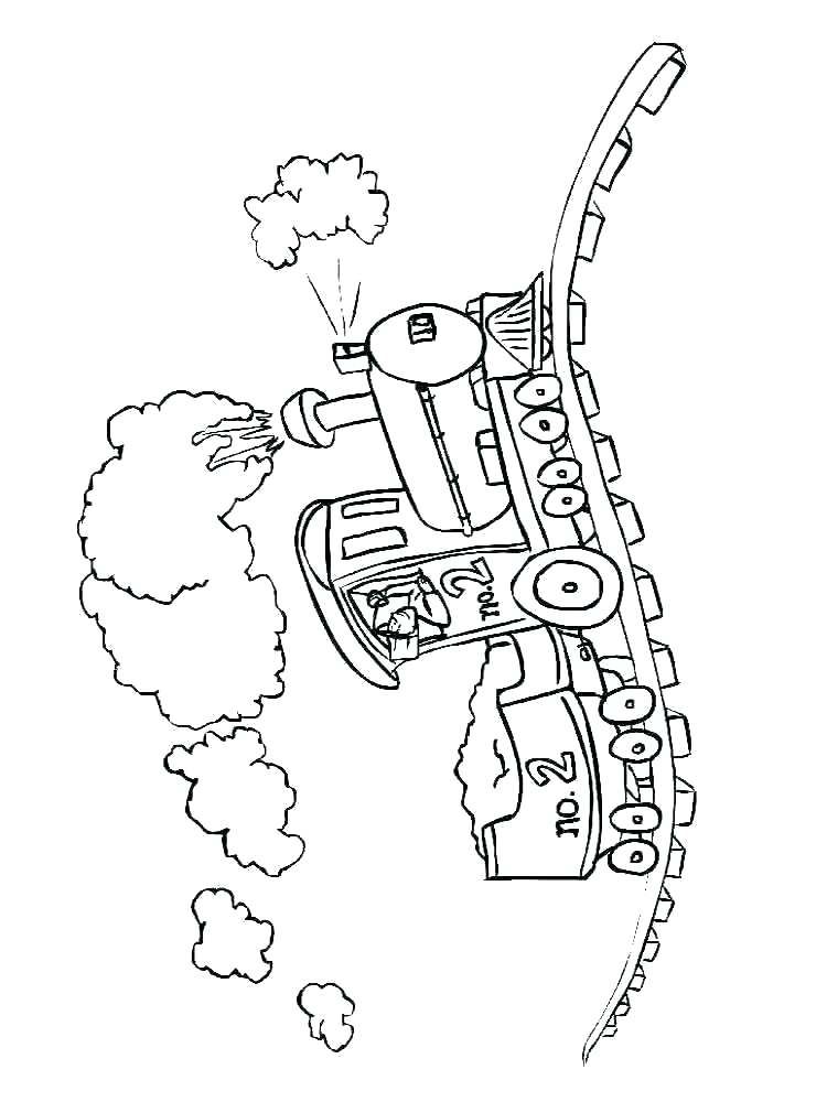 750x1000 Christmas Train Coloring Pages Printable Free Colouring Wisekids