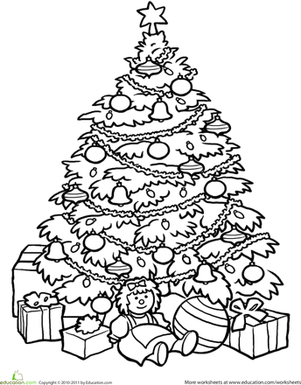 301x385 Christmas Tree Worksheet