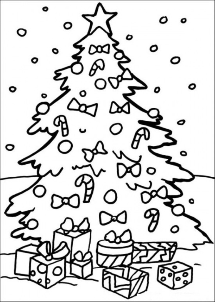 731x1024 Free Christmas Tree Coloring Pages Christmas Coloring Pages