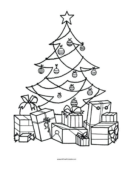 467x604 Free Printable Christmas Tree Coloring Pages Free Printable Tree