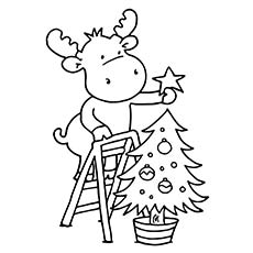 Christmas Tree Coloring Page.Christmas Tree Coloring Pages For Kids At Getdrawings Com