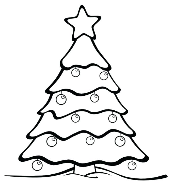 685x721 Free Coloring Pages Christmas Tree Tree Coloring Pages Coloring