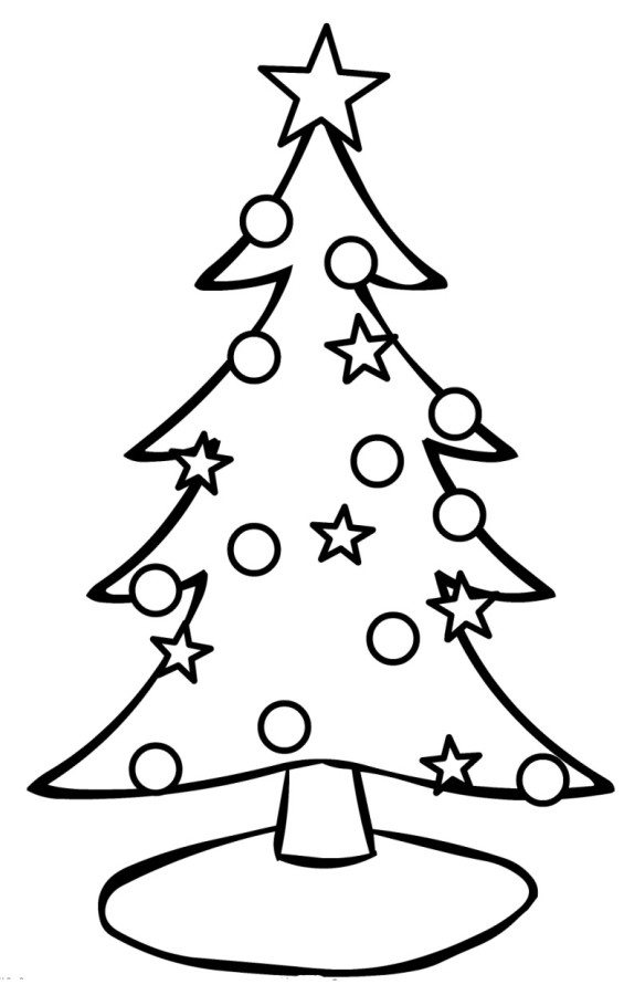 565x900 Angel Christmas Tree Ornaments Christmas Coloring Page