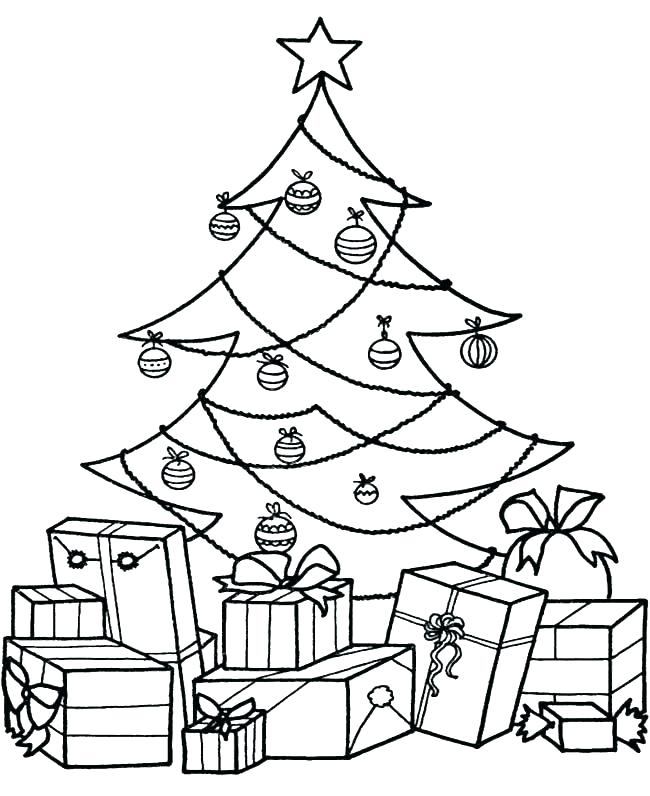 650x796 Coloring Page Christmas Tree Trees Coloring Pages Trees