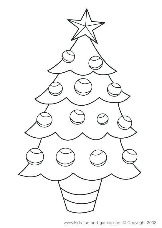 550x775 Coloring Pages Christmas Tree Coloring Page Tree Tree Coloring