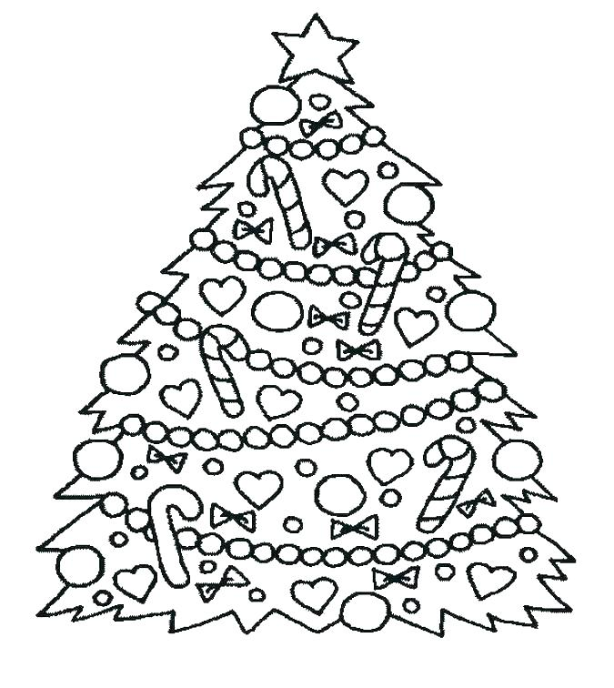 675x756 Free Christmas Tree Coloring Pages Coloring Pages Tree Ornaments