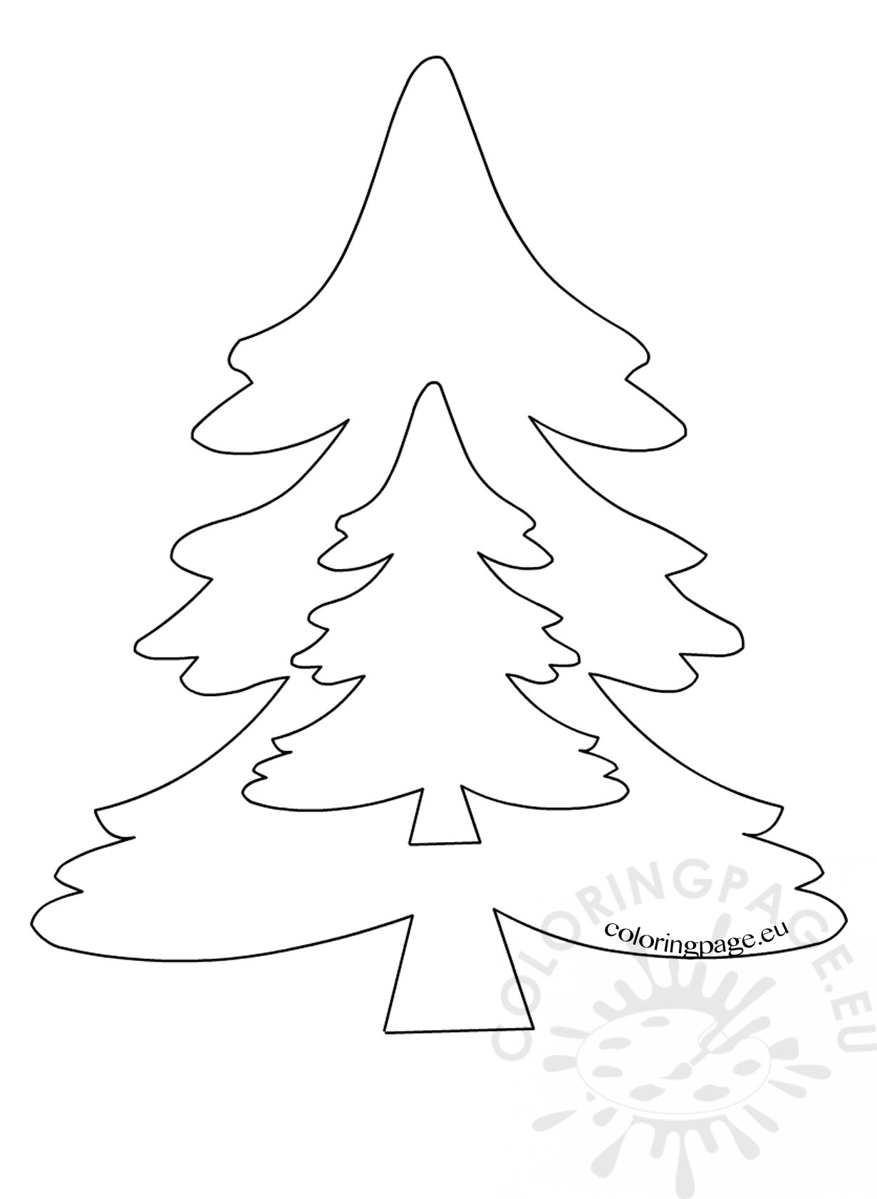 1231x1683 Patterns For Felt Christmas Tree Ornaments Coloring Page