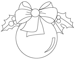 310x250 Christmas Ornament Coloring Pages You Will Find Down Below