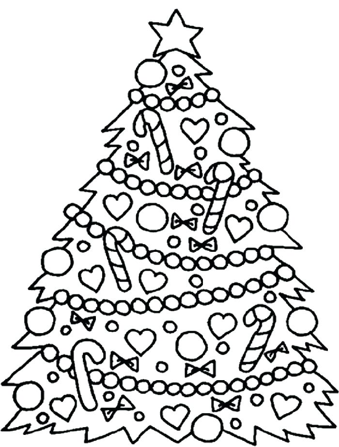 700x923 Christmas Tree Coloring Page S S Free Coloring Pages Christmas