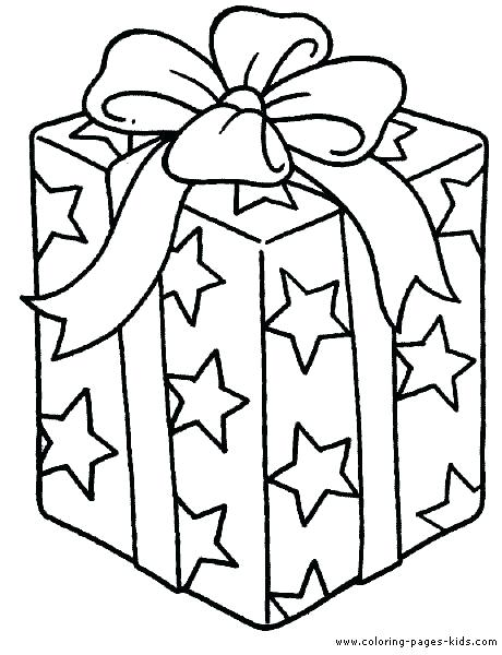 460x600 Coloring Pages Christmas Tree With Presents Printable Coloring