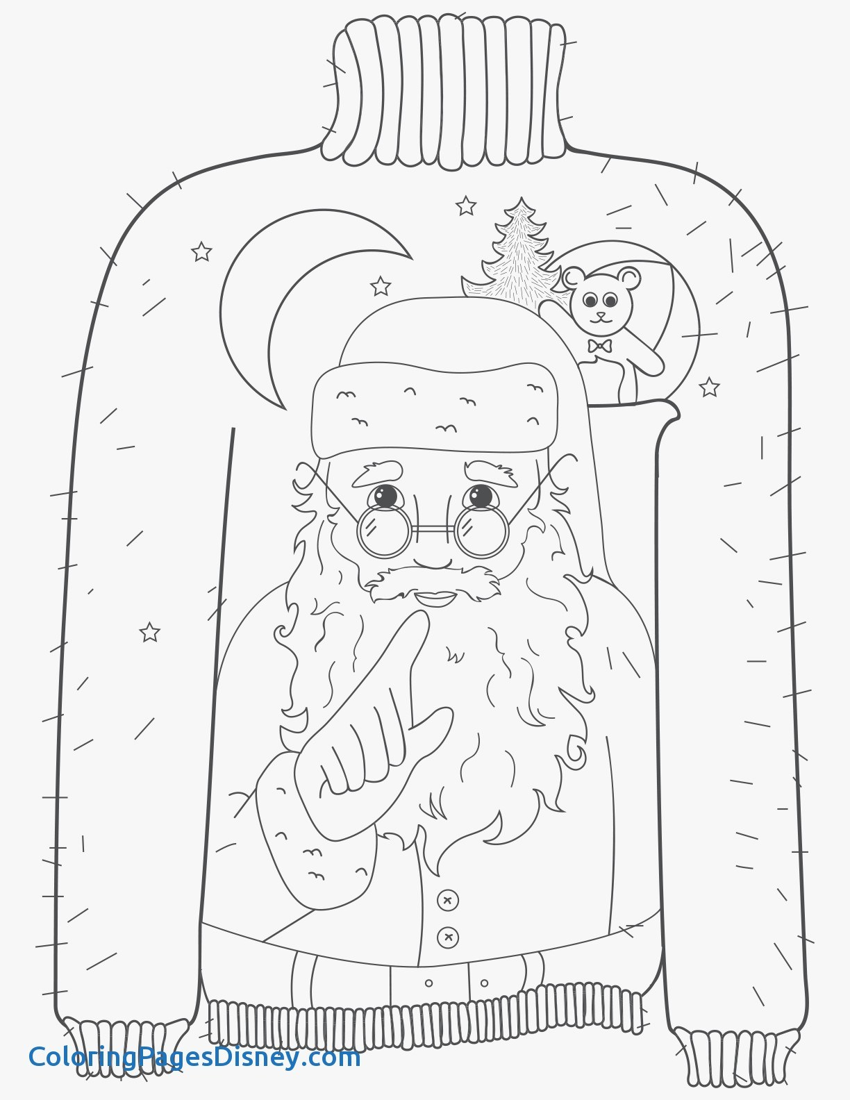 1224x1584 Christmas Sweaters Coloring Pages Awesome Amazing Christmas