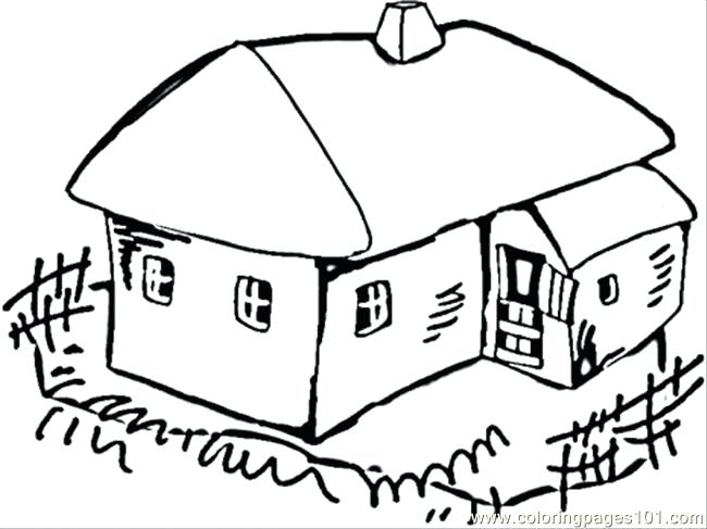 650x487 Village Coloring Pages Free Printable Christmas Village Coloring