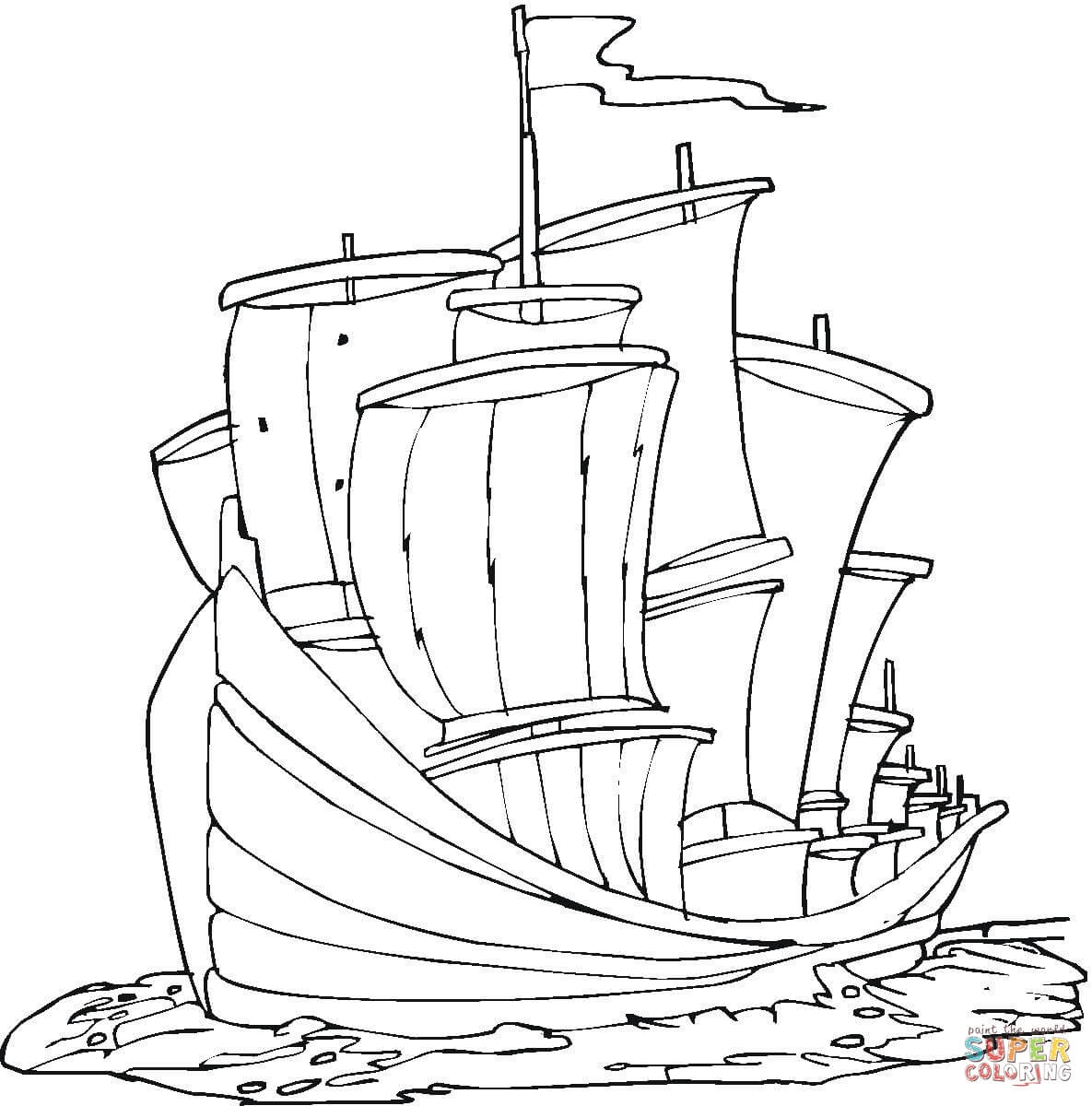 Christopher Columbus Coloring Pages Printable at GetDrawings ...