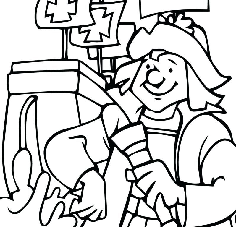 Christopher Columbus Coloring Pages Printable At Getdrawings Com