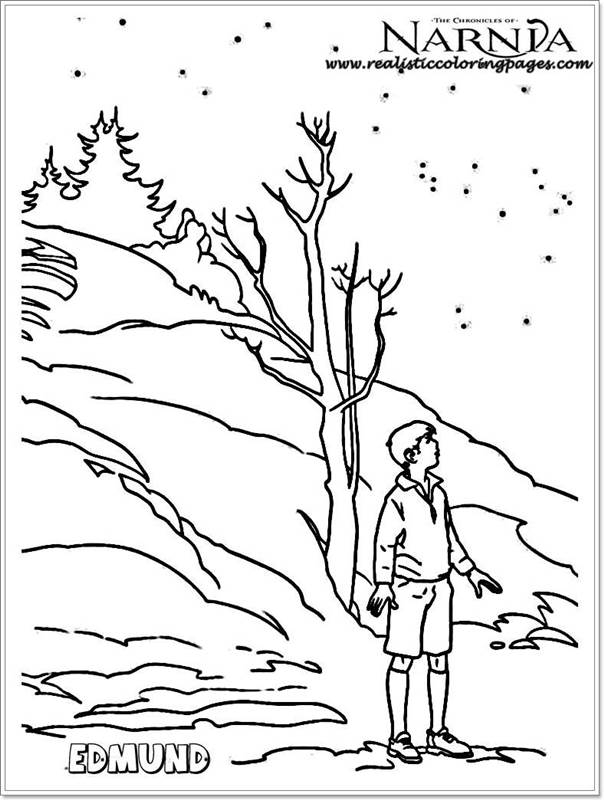 Chronicles Of Narnia Coloring Pages