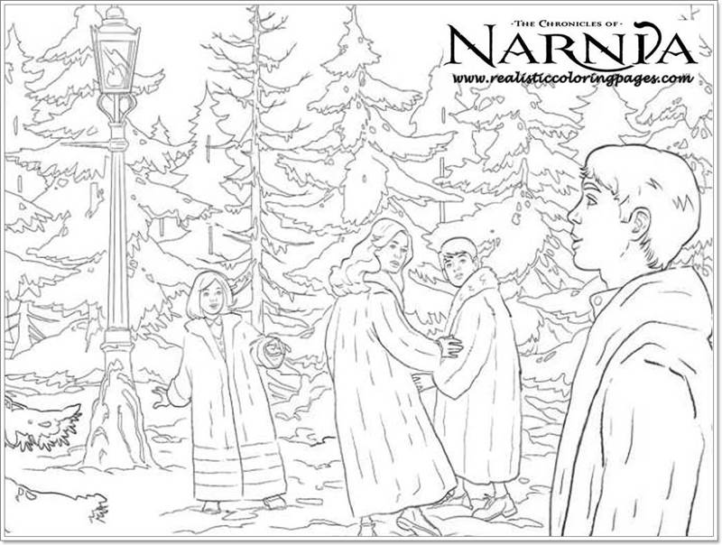 Chronicles Of Narnia Coloring Pages at GetDrawings | Free ...
