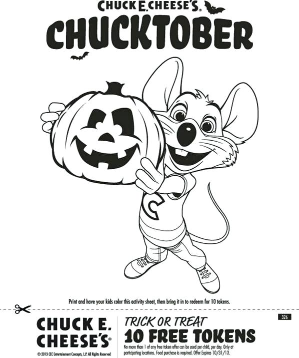 598x715 Astonishing Design Chuck E Cheese Coloring Page Fabulous Book