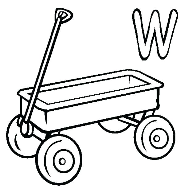 Chuck Wagon Coloring Pages