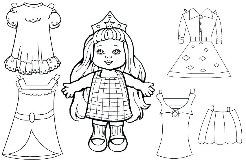 850x556 Doll Coloring Page Baby Doll Coloring Pages Baby Doll Coloring