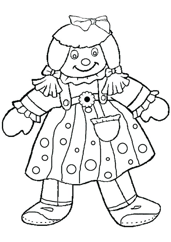 600x850 Girl Doll Coloring Book Chucky Killer Doll Coloring Pages Doll