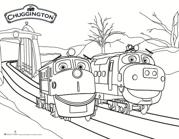 600x464 Chuggington Coloring Pages Pdf Best