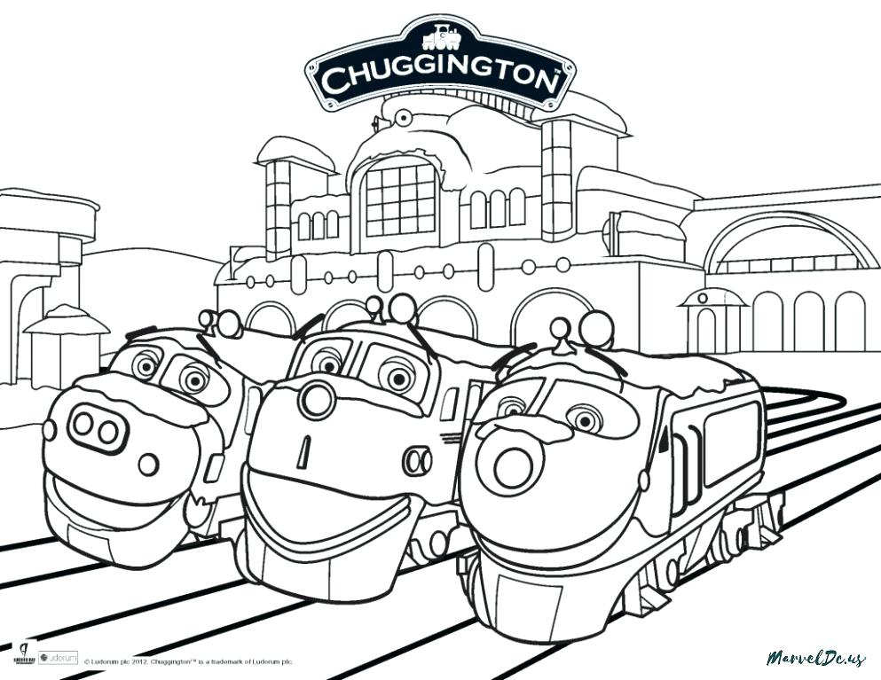 993x767 Coloring Pages Drawing G Chuggington Coloring Pages Brewster
